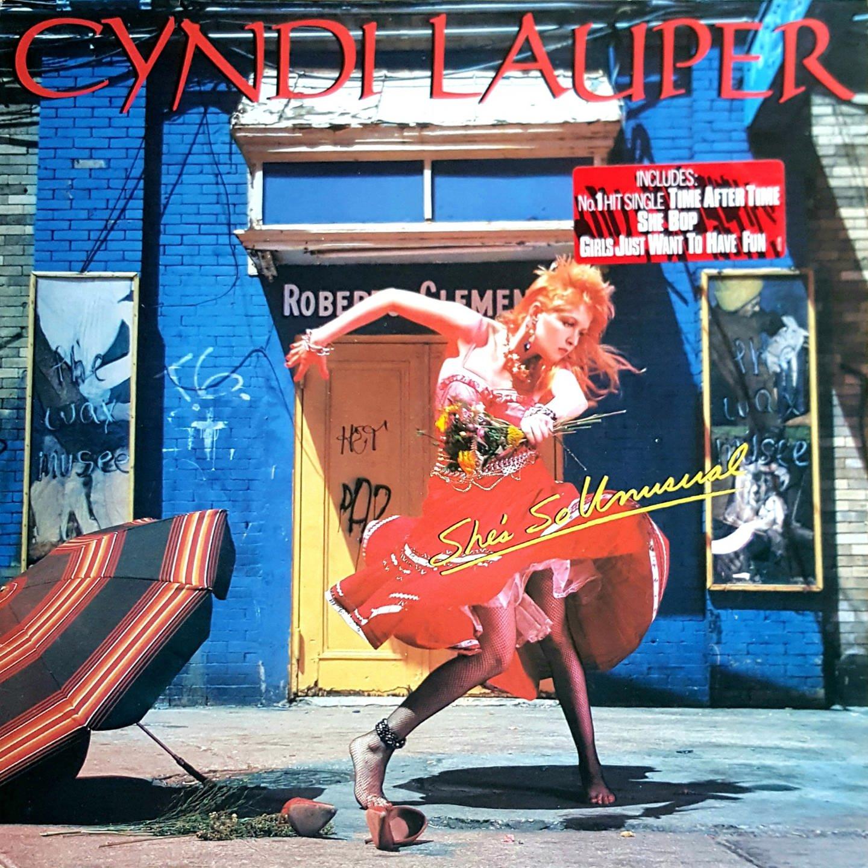 L' album di Cindy Lauper pubblicato in Europa poco dopo l' intervista realizzata a New York