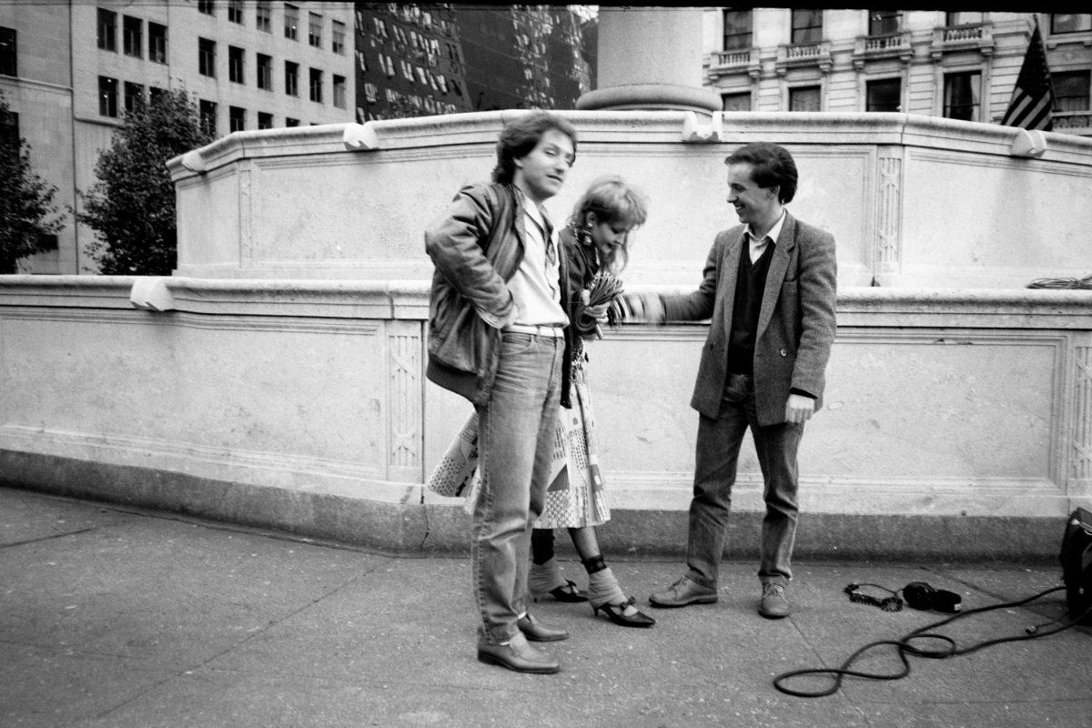 Corry Knobel e Cindy Lauper a New York. La prima intervista concessa a un giornalista europeo