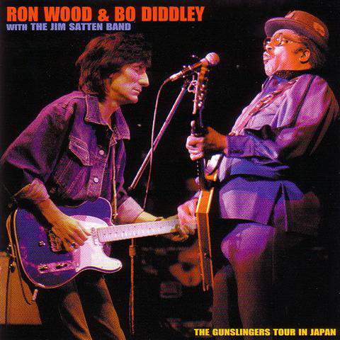 Ron Wood e Bo Diddley