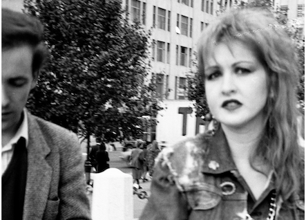 Cindy Lauper a New York