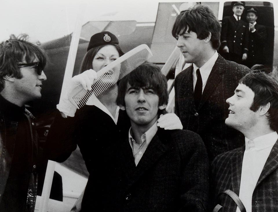 I BEATLES ALL' AEROPORTO DI  ZURIGO (KLOTEN)